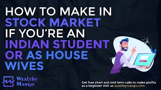 How to make money in stock market as a student 2020