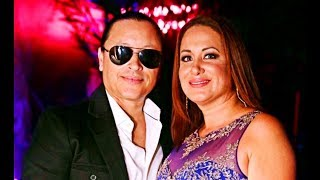 Elvis Crespo and his wife Maribel Vega