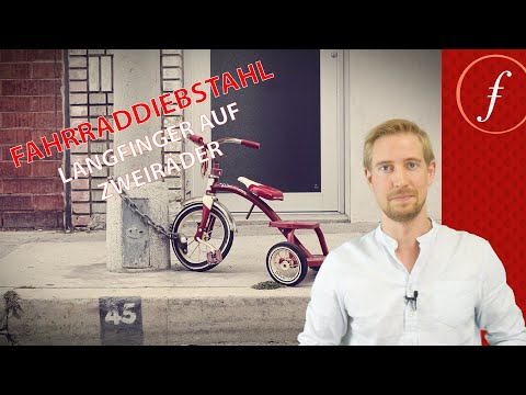 Fahrraddiebstahl - Langfinger auf Zweiräder