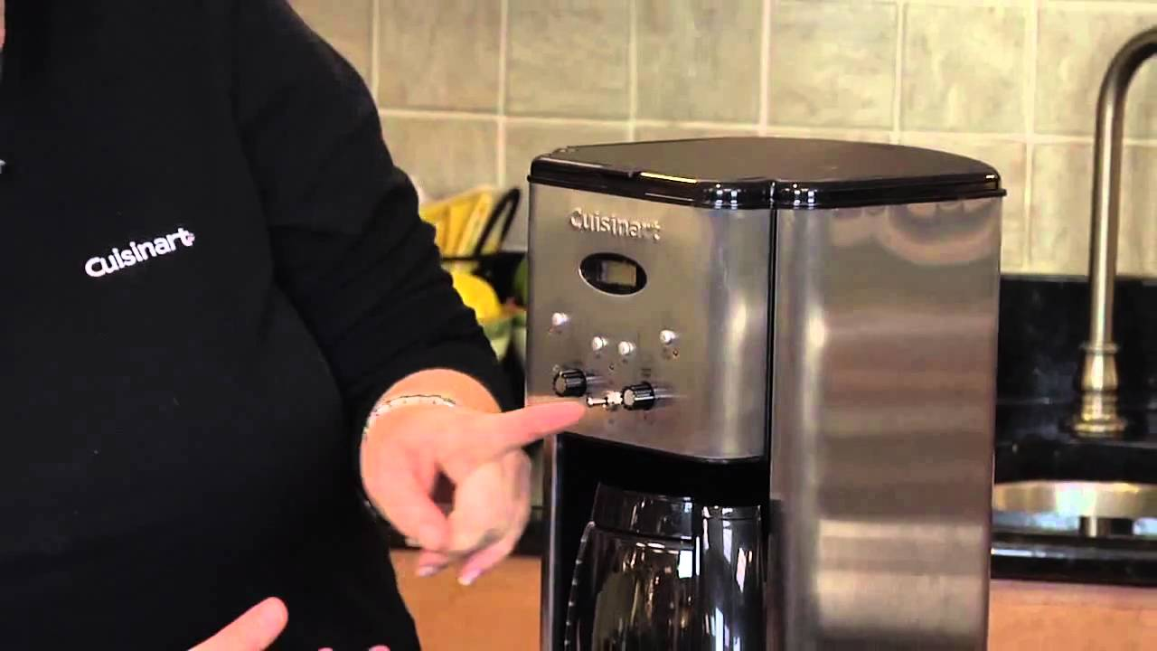 Cuisinart Coffee Maker Auto On Not Working : Cuisinart DCC 1200 Programmable Coffeemaker - YouTube