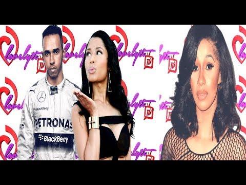 Cardi B back on social media+Nicki Minaj Joins Cyber-Bullying Campaign+Lewis Hamilton Speaks