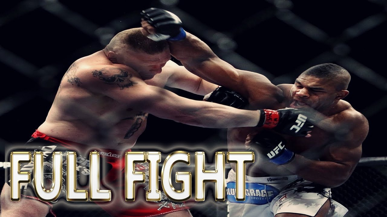 Alistair Overeem Vs Brock Lesnar Full Fight Ufc Fight