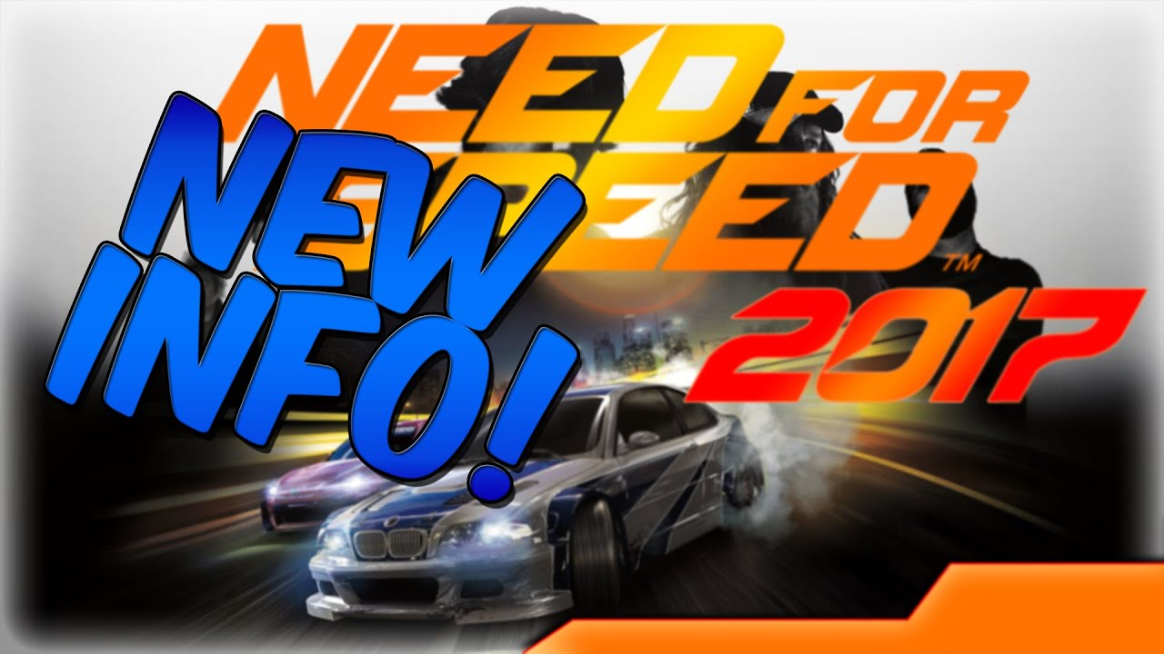 new release car gamesEPIC NEW NEED FOR SPEED GAME 2017  Confirmation Release