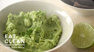 Mashed Avocado And Hummus Dip Recipe  - Eat Clean With Shira Bocar