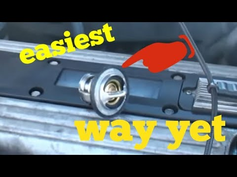 Easy 22 ecotec thermostat replacement - YouTube