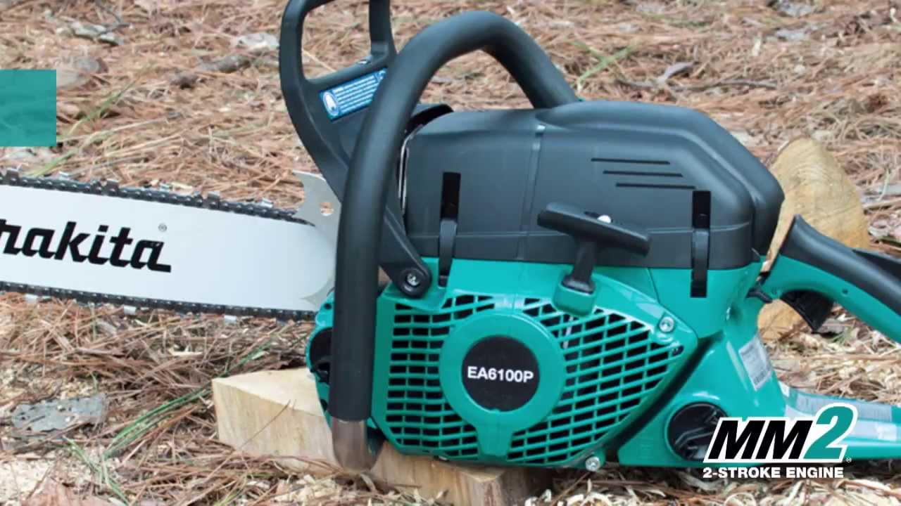 Makita 61cc 20 in gas chainsaw ea6100p53g youtube makita 61cc 20 in gas chainsaw ea6100p53g greentooth Choice Image