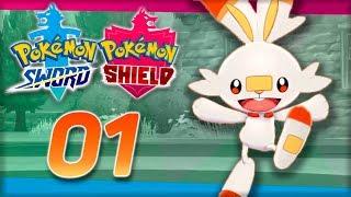 СТАРТОВЫЙ ПОКЕМОН СКОРБАННИ -  Pokemon Sword & Shield #1 - Прохождение (ПОКЕМОНЫ НА НИНТЕНДО СВИЧ)