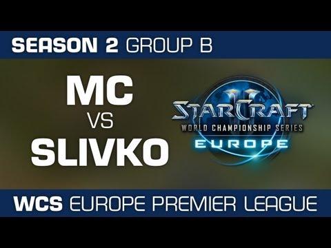 MC vs. sLivko - Group B Ro32 - WCS European Premier League - StarCraft 2