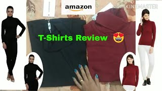 T-shirt under 500/Amazon Affordable tops haul/Amazon tops/amazon tops review