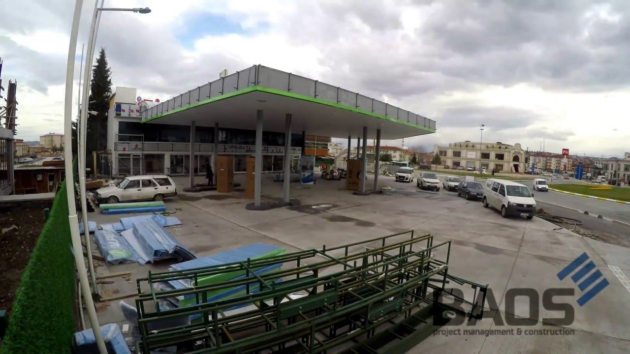 Download Petrol Station Construction