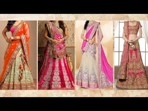 5 Gorgeous Ways To Wear Lehenga Saree & Makeup | How To Wear Lehenga In Different Style to Look Slim