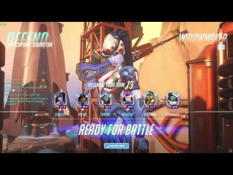 Competitive Overwatch | No Commentary, Just Gaming!
