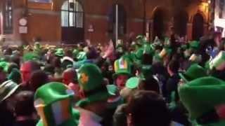 St Patrick's Day In Templebar 2013