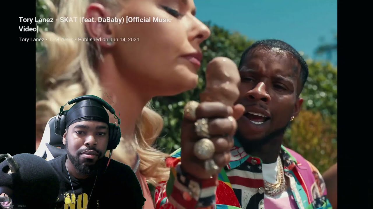 Tory Lanez - SKAT ( feat. DaBaby ) Official Music Video | REACTION