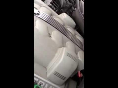 Knocking and failing alternator on BMW 745i 2002