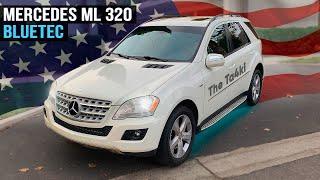 Обзор авто с автоаукциона Manheim в Америке   Mercedes-Benz ML320 W164 BlueTec 2009 года за 6300$