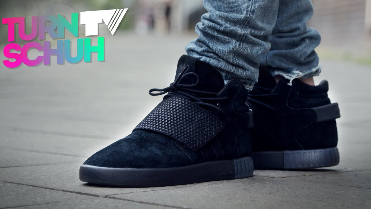 new product fd846 7bed4 Adidas Tubular Invader Strap   ON-FEET