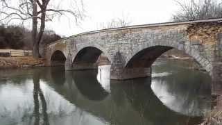 Antietam Creek Burnside Stone Arch Bridge Built In 1832