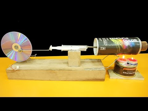 Free-Energy Steam Engine // How To Make // At Your Home //