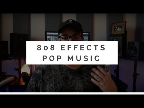 808 Effects Tutorial | Slides & Pitchbend | Pop Music