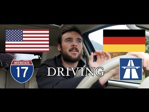 Driving: Germany vs. USA