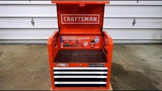 Craftsman 2000 Series 4 Drawer Top Chest Model CMST22641RB