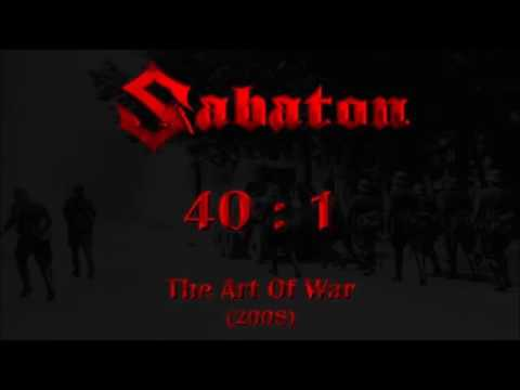 sabaton art of war complete lyrics album