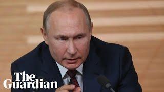 Vladimir Putin says Trump impeachment grounds are 'made up'