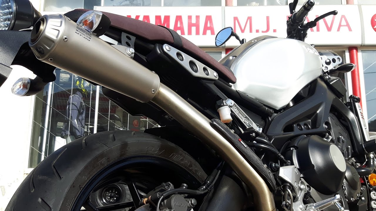 Yamaha XSR900 Akrapovic High Mount 10 2016 10900EUR