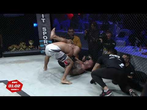 "SBC 19 - Damir ""Dado"" Mihajlovic vs Jhonny ""Lenhador"" Carlos - Best Moments - Great Fight"