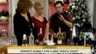 Jonathan Pogash With New Years Eve Cocktails / Champagne On Today With Kathie Lee And Hoda