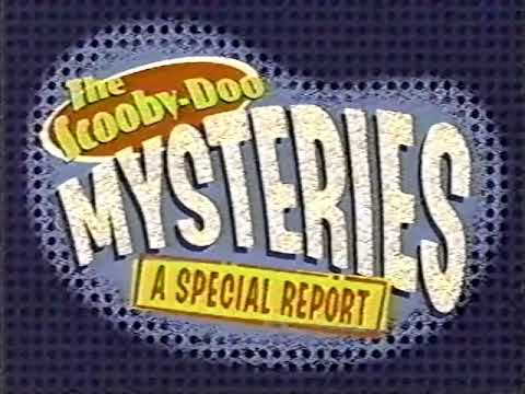 Download Cartoon Network promo - The Scooby-Doo Mysteries: A Special Report (1996)