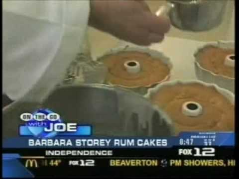 Barbara Storey Rum Cakes