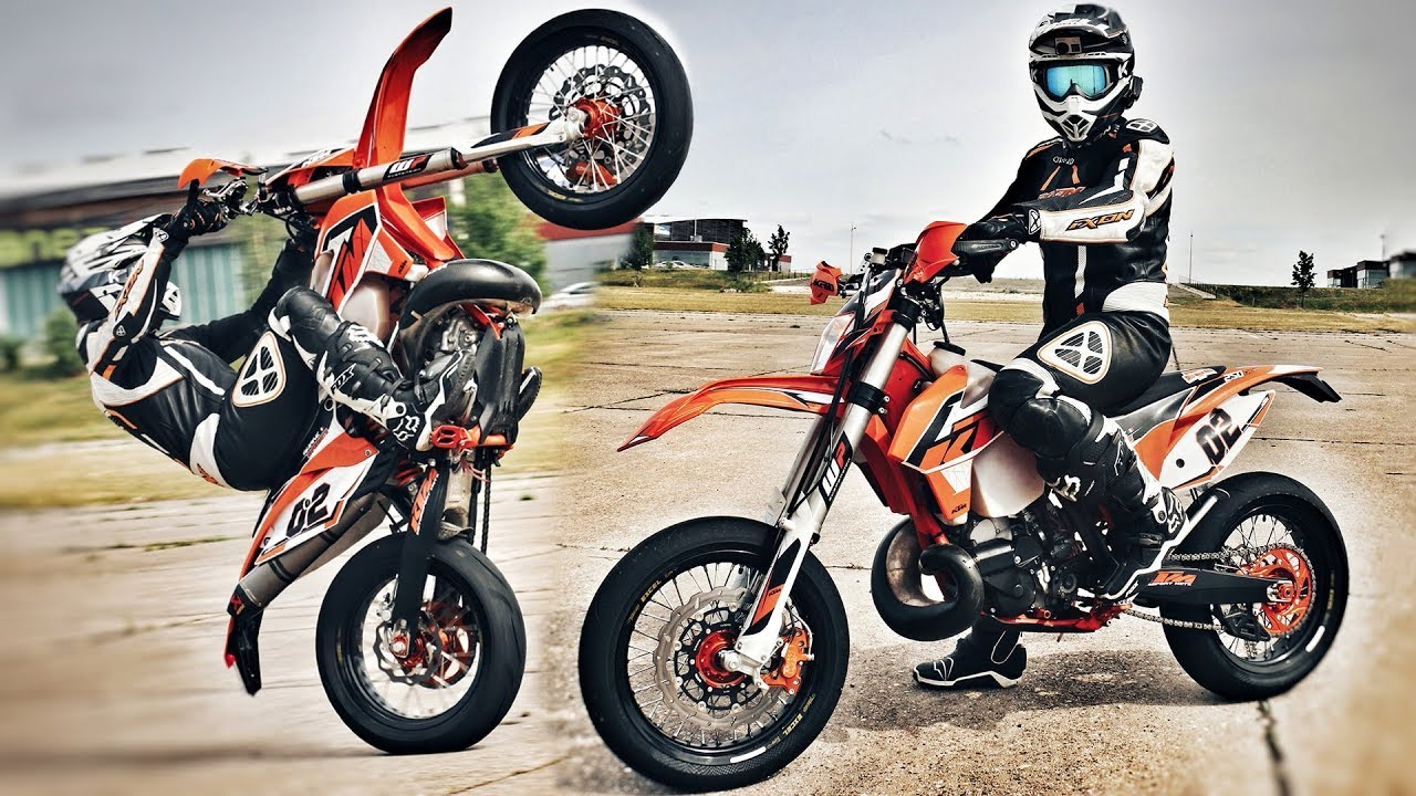 ktm 250 exc supermotard un monstre youtube. Black Bedroom Furniture Sets. Home Design Ideas
