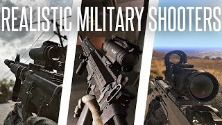 Realistic Shooter Games and Military Simulation in Under 10 Minutes