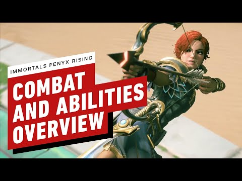 Immortals Fenyx Rising: Combat and Abilities Overview