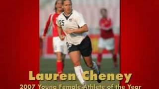 2007 Young Female Athlete of the Year: Lauren Cheney