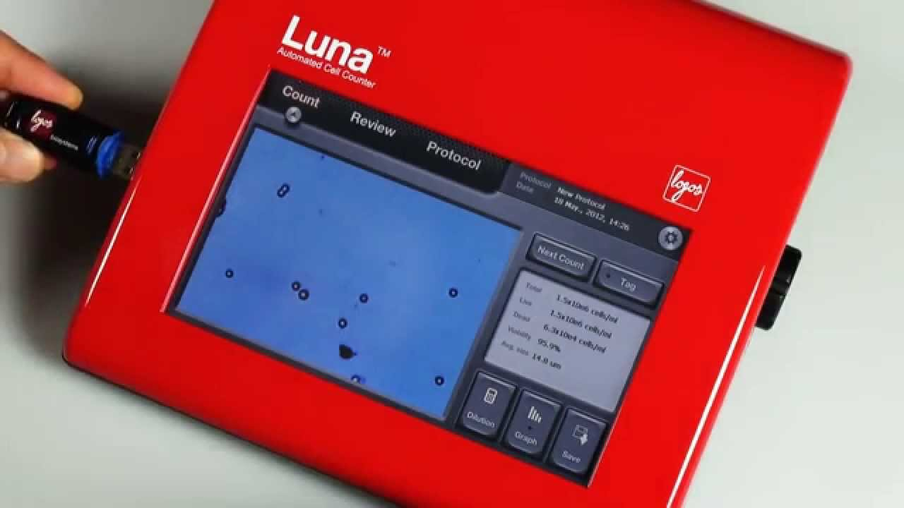 LUNA Automated Cell Counter