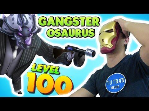 Monster Legends: Gangsterosaurus level 1 to 100 - Combat PVP