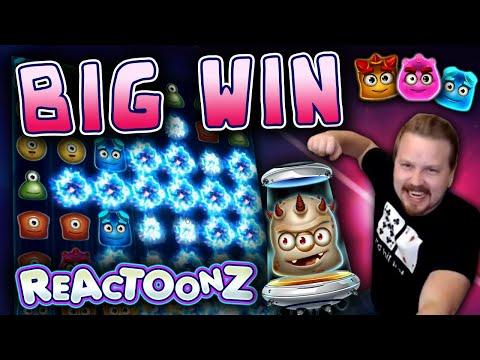 BIG WIN On Reactoonz!
