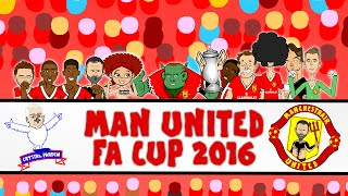 MAN UNITED FA CUP 2016 WINNERS! Crystal Palace vs Man Utd 1-2 (Final 2016 Goals and Highlights)