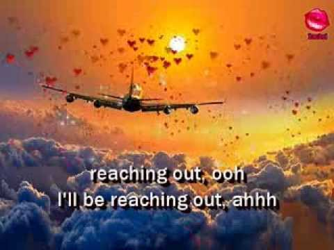 REACHING OUT - Bee Gees (Lyrics)