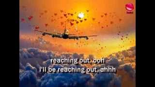 REACHING OUT - Bee Gees (Lyrics)