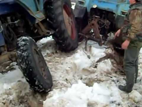 Самый мощный белорусский трактор Беларус 4522 (МТЗ) - YouTube