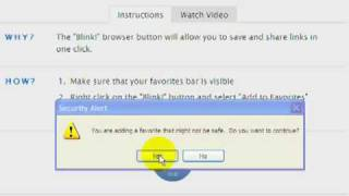 install browser button to internet explorer 8
