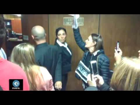 "Córdoba: Jucio por ""La Perla"" Pando increpó a Estela de Carlotto"