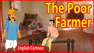 The Poor Farmer | English Cartoon For Children | Moral Stories For Kids | Chiku TV English