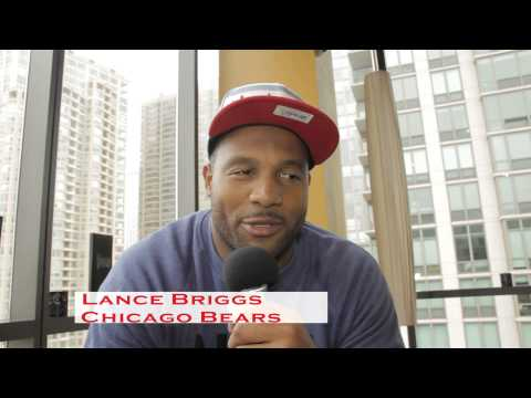 Lance Briggs of the Chicago Bears Interview