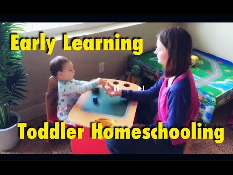 Homeschooling At 18 Months! Early Learning Basics