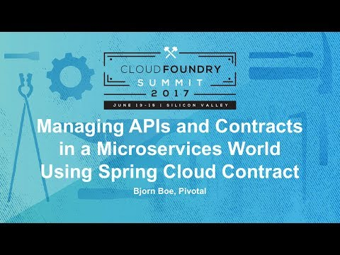 Managing APIs and Contracts in a Microservices World Using Spring Cloud Contract